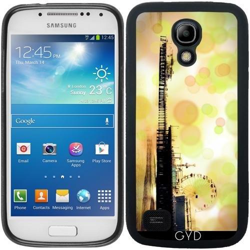 DesignedByIndependentArtists SilikonHülle für Samsung Galaxy S4 Mini (GT-I9195) - Grüne Sprudelnde Pier by Christine aka stine1