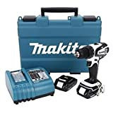 Makita Power Tools 18 Volt .50in. Compact Lithium Ion Cordless Drill Driver Kit L