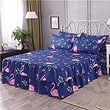 huyiming Utilisé pour la Couverture de lit 150 * 200cm de Feuille de lit de Couverture de lit de Jupe de lit de Jupe de lit Simple
