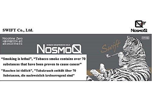 [NosmoQ] Herbal Sticks, 1 Karton (10packs-200 Sticks), Haselnuss-Geschmack , Non-Tabak, Kein Nikotin, Keine süchtig machenden Chemikalien für die Gesundheit, 100{f2af2c772916bdc515395d2da1a956cfb867465cd5ff9d4a8f048ed25e3cb725} Kräuter aus der orientalischen Medizin verwendet.