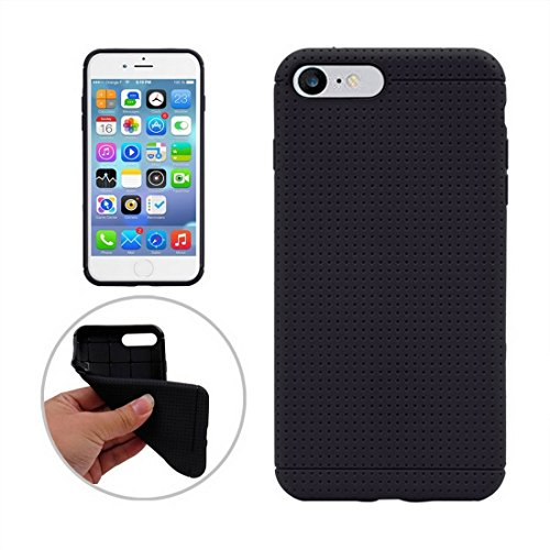 GUTER KASTEN- Für iPhone 7 Plus Honeycomb Texture Soft TPU Schutzhülle (Color : Black) - Honeycomb Seide