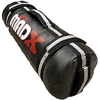madx Power Chiffon/sable vide de boxe d'entraînement fitness Noir/Gris