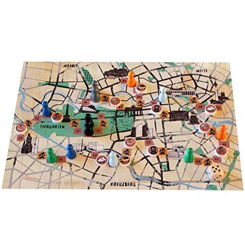 Spieltz 50869: Berliner Bärenspiel - das Berlin Spiel als Reisespiel (Größe Small)