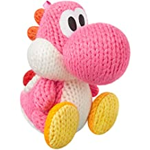 Amiibo Rosa Yoshi (Yoshi's Woolly World Series) for Nintendo Wii U, Nintendo 3DS/Pink