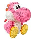 Amiibo Rosa Yoshi (Yoshi's Woolly World Series) for Nintendo Wii U, Nintendo 3DS/Pink