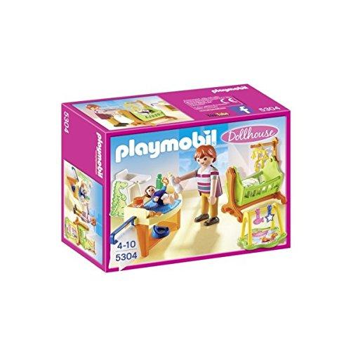 Playmobil Dollhouse Maison Traditionnelle - 5304 - Chambre De Bébé...