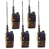 Baofeng 5er GT-3 Dualband VHF/UHF Handfunkgerät Sprechfunkgerät Amateurfunk LCD Display Walkie Talkie PMR CTCSS/CDCSS