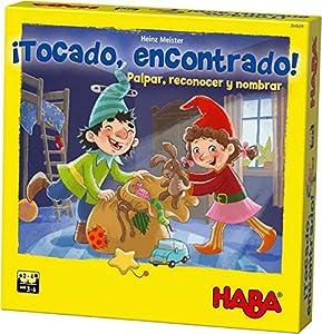 HABA-Juego de Mesa, ¡Tocado, Encontrado, (Habermass H304509)