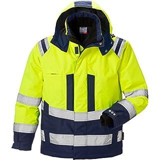Fristads Kansas 119626 High Viz Airtech Winter Jacket Hi-Vis Yellow/Navy 3XL