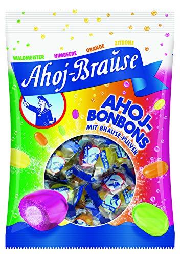 Preisvergleich Produktbild Ahoj-Brause Ahoj-Bonbons Beutel – Ahoj-Bonbons mit Brausefüllung - 4 verschiedene Geschmacksrichtungen: Himbeere,  Orange,  Zitrone und Waldmeister - 150 g