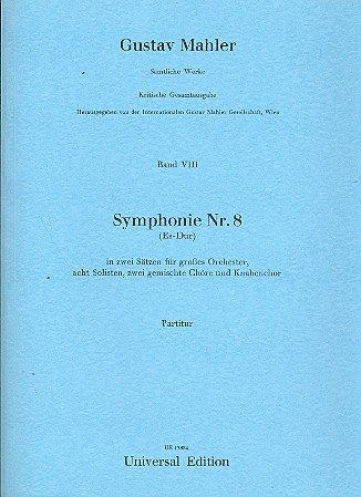 Sinfonie Nr.8 : für Orchester Partitur