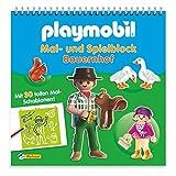 Playmobil Mal- und Spielblock Bauernhof: Mit 30 tollen Mal-Schablonen!