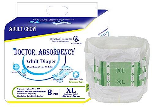 Doctor Absorbencia desechable tamaño extra grande para adulto pañales de papel en pantalones superficie seca