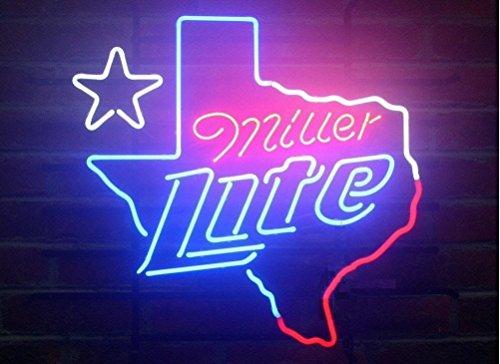 miller-lite-texas-neon-24x20-inches-bright-neon-light-display-mancave-beer-bar-pub-garage-new