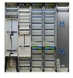 TM: 12277: Hager Zählerschrank 2x 3.HZ Zähler + 1x Verteiler/TSG + 2x Verteiler + 1x Multimediafeld 1400mm ZB55S