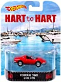 Hot Wheels Hart to Hart Ferrari Dino 246 GTS Die-Cast Retro Entertainment Series by Hot Wheels