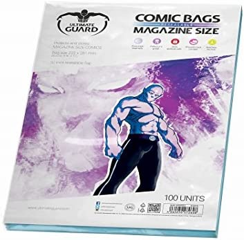 Ultimate de Guard Sacs de Comic refermables Taille magazine (lot de Ultimate 100) B00GHMNX1S a7c6d6