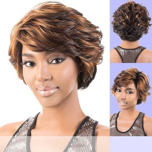 GALAXY (Motown Tress) - Synthetic Full Wig in 3T4_613