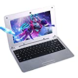 FANCY CHERRY HD 10 inch Mini Laptop Notebook Netbook Tablet Computer 1G DDR3 4GB di memoria VIA WM8880 CPU Dual Core Android Schermo Wifi Camera Keyboard USB HDMI (Argento 8 GB)