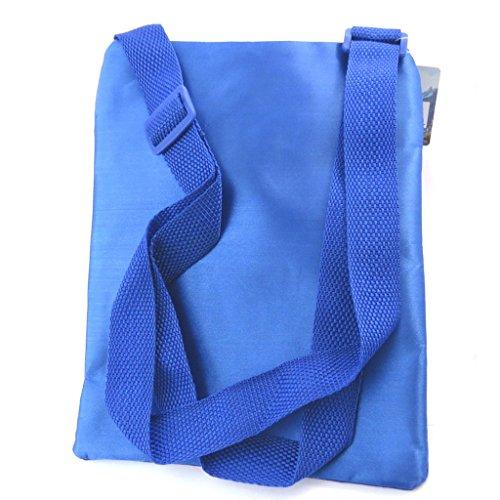 La bolsa de hombro 'Frozen - Reine Des Neiges'azul (23x17 cm).