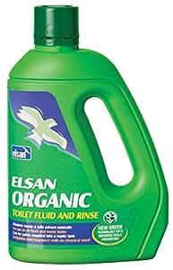 Elsan ORG02 Organic Toilet Fluid for Motorhomes, Green, 2 Litre