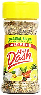 MRS DASH ORIGINAL SEASONING BLEND SALT FREE 1 x 71g JAR AMERICAN IMPORTED by MRS DASH