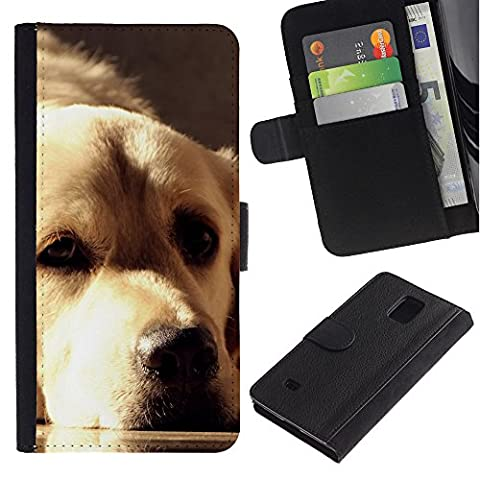 EuroCase - Samsung Galaxy Note 4 SM-N910 - golden retriever