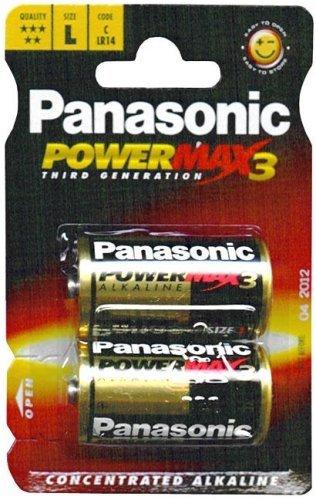 Panasonic Lr14 Pro Power Torche Demi-Blister 2 Rouge/Or