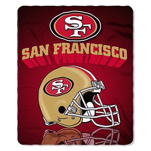 """Northwest NFL American Fleece Werfen, 50-inches X 60-inches, Damen Kinder Unisex Herren, 087918914100, rot, 50"""" x 60"""""""
