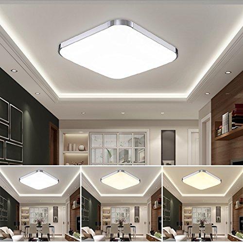 hengda led 36w 48w deckenleuchte energiespar modern deckenlampe esszimmer wohnzimmer badezimmer. Black Bedroom Furniture Sets. Home Design Ideas