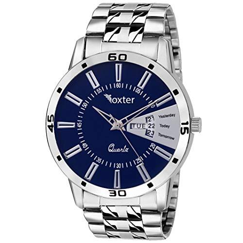 Foxter Analog Blue Dial Men\'s Watch-FXT12457