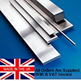 4mm x 10mm x 500mm Ground Flat Stock/Gauge Plate. O1. Saxon Steel Made In The Uk. G.F.S
