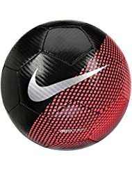 Nike CR7 Prestige Balón, Unisex Adulto, Negro (Black/Flash Crimson/Silver