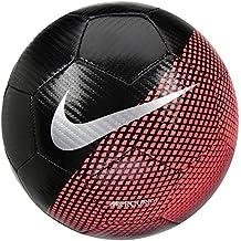 Nike CR7 Prestige Balón, Unisex Adulto, Negro (Black/Flash Crimson/Silver