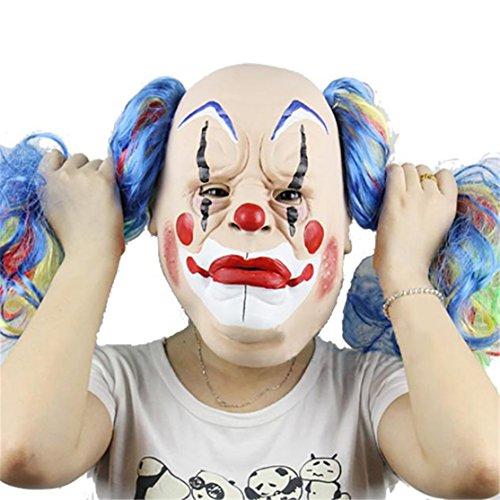 Clown Masken Loveso Herren Gruseliger Clown Maske, Erwachsenen Kostüm Masquerade Gesichtsparty Cosplay Karneval Maske - Gesichts-maske Zu Die Durch Sehen