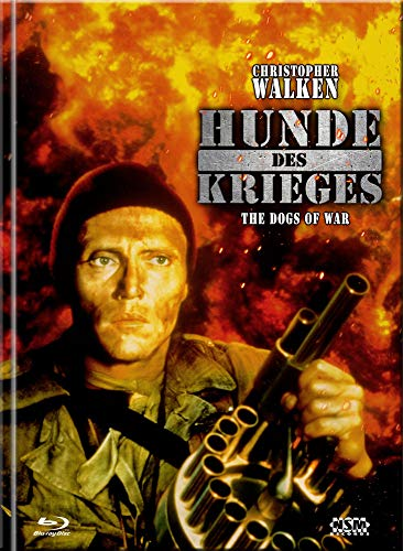 Hunde des Krieges - The Dogs of War [Blu-Ray+DVD] - uncut - limitiertes Mediabook Cover C