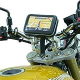 6inch extra Breitbild GPS SATNAV Riemen Motorrad Halterung (SKU 16401)