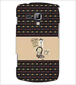 PrintDhaba Quote D-5641 Back Case Cover for SAMSUNG GALAXY S DUOS 2 S7582 (Multi-Coloured)