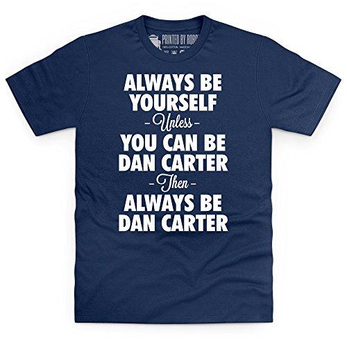 Always be Dan Carter T-shirt, Uomo Blu navy