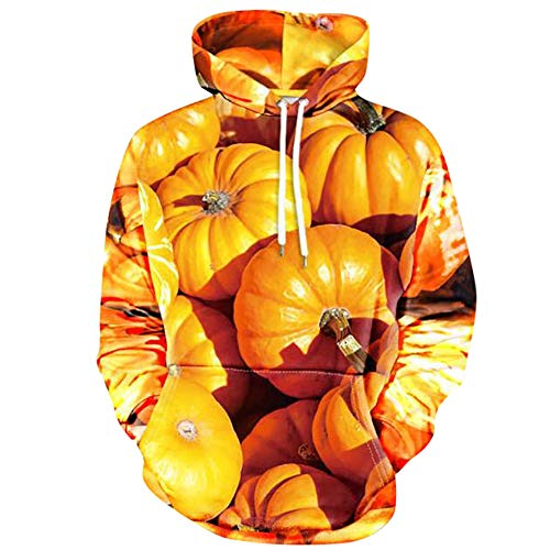 JUSTSELL Halloween-Kostüm ❤ Langarmshirts Pullover Herren Herbst Winter, Männer 3D-Druck Hoodie Kapuzenpullove Kängurutasche HoodieJacke Stilvoll Pullover Kapuzenpullove Tops