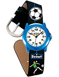 Scout Jungen-Armbanduhr Analog Quarz Kunstleder 280305000