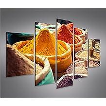 Bild Bilder Auf Leinwand Gewrze V2 Kche Orientalische MF XXL Poster Leinwandbild Wandbild Dekoartikel Wohnzimmer Marke