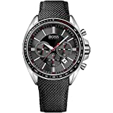 Hugo Boss Black Driver Sport Mens Chronograph Watch 1513087