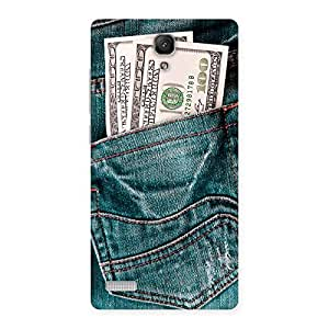 Cute Pocket Full Jeans Multicolor Back Case Cover for Redmi Note