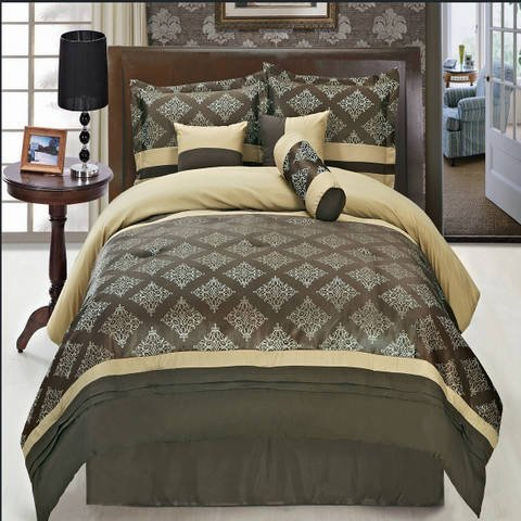 luxurious-king-size-7-piece-thomasville-coffee-comforter-set-with-comforter-bed-skirt-pillow-shams-c
