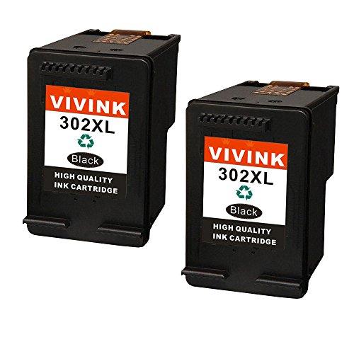 Vivink 2pezzi 302x l alta resa nero combo pack cartucce rigenerate