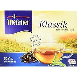 Meßmer Klassik Schwarzteebeutel 2er Pack (2 x 87,5 g Packung)