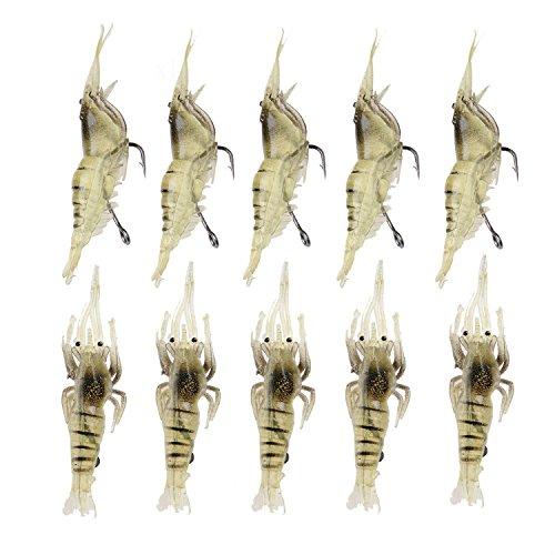 Chianrliu® Biomimetic Cebo de Pesca, Unisex-Adult, 10pcs, a