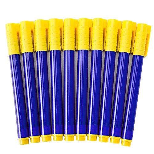 Geldfälschungsstifte, gefälschte Stifte, 10 Stück