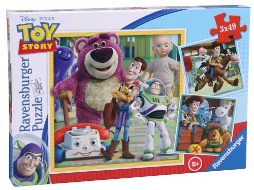(Disney Ravensburger Toy Story Puzzle (3x 49Teile))